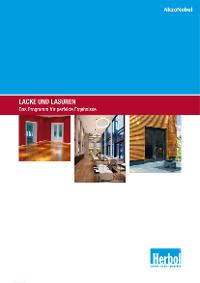 Broschüre: Lacke und Lasuren