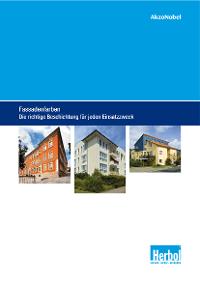 """Broschüre: """"Fassadenfarben – die richtige Beschichtung für jeden Einsatzzweck"""""""