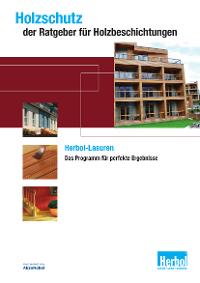 Broschüre: Holzschutz – der Ratgeber für Holzbeschichtungen