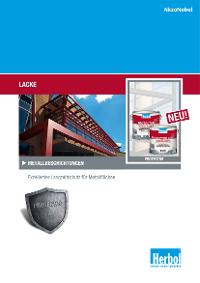 Broschüre: Lacke – Metallbeschichtungen